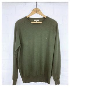 Men's Burberry London Wool Blend Crew Neck Knit M